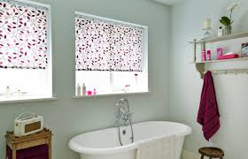 make a statement in your bathroom web blinds