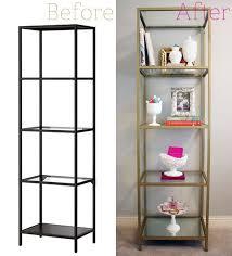 Ikea Racks Best 25 Glass Shelving Unit Ideas On Pinterest Glass Shelves