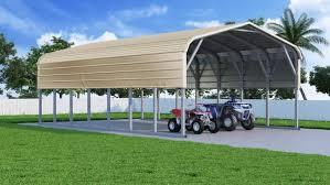 Car Port For Sale Regular Roof Steel Carports Metal Carport Car Ports For Sale