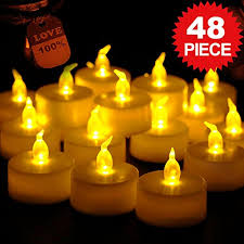 fake tea light candles flameless led tea light candles costech realistic flickering and