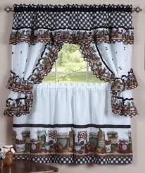 Country Curtains Coupon Codes Mason Jars Cottage Set U2013 Multi U2013 Achim Kitchen Country Curtains