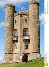 broadway tower folly in cotswolds england stock photo image