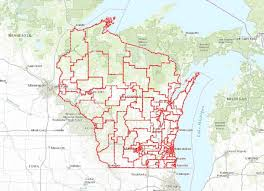 Wisconsin Election Map by Wisconsin U0027s State Legislative Districts Are A Big Republican