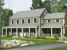 two story modular farmhouse with a great porch modular