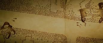 Harry Potter Map Harry Potter Marauders Map Mural Wall Murals You U0027ll Love