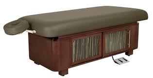 oakworks electric massage table celesta flat top electric lift tables oakworks