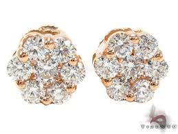 gold earrings studs gold vs floweret studs featured earring gold 18k