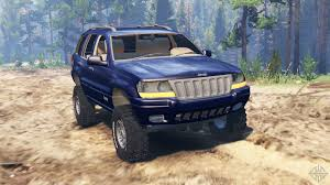 blue jeep grand cherokee 2004 jeep grand cherokee wj for spin tires