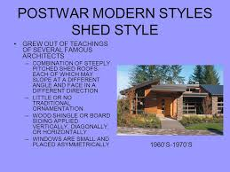 shed style architecture chapter 15 18th 19th and 20th century homes ppt