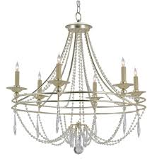 currey u0026 company 9161 watteau 6 light chandelier with