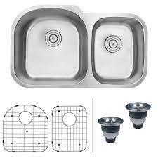 Amazon Com Kitchen Faucets Ruvati Rvm4600 Undermount 16 Gauge 34