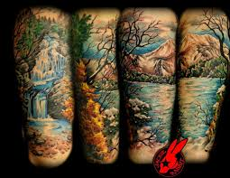 nature tree half sleeve for in 2017 photo