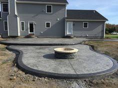 Concrete Backyard Patio stamped concrete patios driveways u0026 walkways columbus ohio