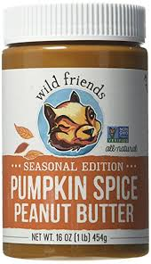 pumpkin foods amazon com wild friends foods pumpkin spice peanut butter 16 oz