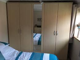 5 Door Wardrobe Bedroom Furniture New Art Deco Skyscraper Style Stepped 2 3 4 5 Door Bedroom 5 Door