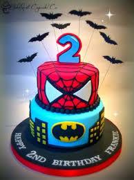 spiderman batman cake spiderman batman birthday cake