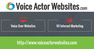 voice actor websites voice over talent website design voice
