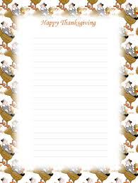 printable stationery pages thanksgiving u2013 happy thanksgiving