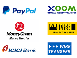 global money transfer trainingicon we provide you following payment methods pay online