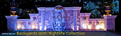 Outdoor Water Features With Lights by Luxury Swimming Pool U0026 Spa Design Ideas Outdoor Indoor Nj
