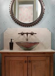 innovative sink bowl on top of vanity integrated stone sinks