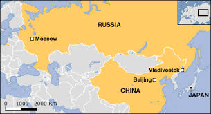 moscow russia map europe russia s far east looks to china