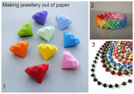 summer holiday jewellery making part two u2013 using paper to make