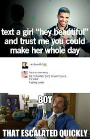 Pretty Girl Meme - text a girl hey beautiful weknowmemes