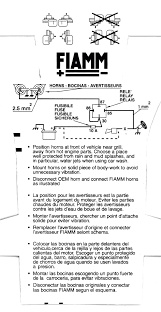 fiamm horn wiring home depot air horns u2022 wiring diagram database
