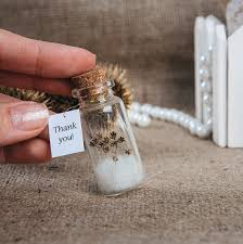 thank you wedding gifts favors eco wedding favour thank you bottle wedding gift