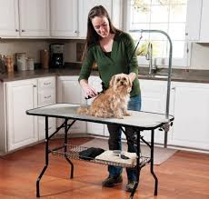 large dog grooming table choosing a dog grooming table