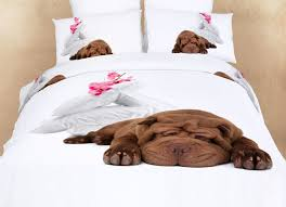 zebra print bedding for girls sleepy dog dm488t shar pei puppy 3d print bedding kids dorm xl