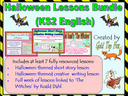 halloween short story creative writing lesson ks2 english by