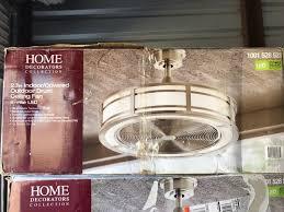 brette 23 in led indoor outdoor brushed nickel ceiling fan hdc brette 23 in led indoor outdoor brushed nickel ceiling fan