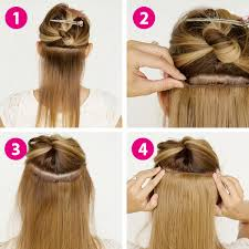 clip in extensions clip in extensions mittelbraun blond gesträhnt 60cm