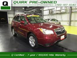 red subaru forester 2015 used subaru forester for sale