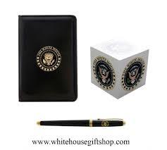Black White Desk by President Desk Set White House 3