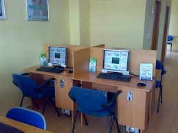 interior design computer table design for internet cafe computer