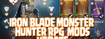 blade apk iron blade rpg mods apk unlimited