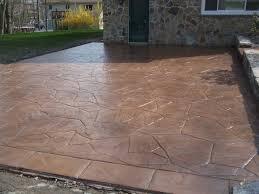 Flagstone Stamped Concrete Pictures by Js Landscape U0026 Construction Concrete