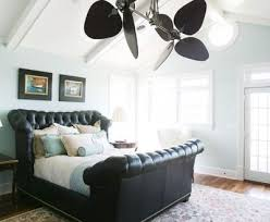 bedroom fans chic and sculptural black white led ceiling fans ideas awesome