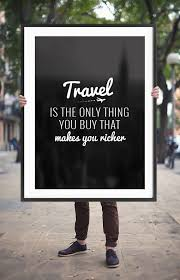 Travel Quote Printable Poster