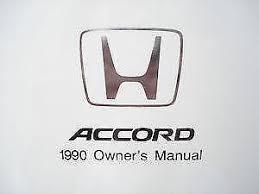 honda car manual honda accord manual ebay