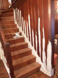 Painting A Banister Black Remodelaholic Black And White Painted Staircase Transformation