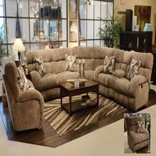 sofa leather reclining sectional large sectional couches black
