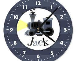 personalized picture clocks personalized clocks etsy