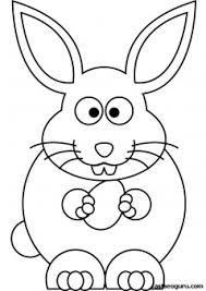 printable easter bunny coloring sheet kids printable