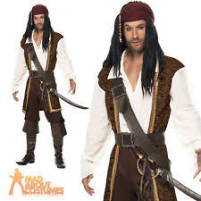 mens fancy dress costumes jack sparrow ebay