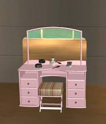 Pink Vanity Table with Mod The Sims Vanity Table Recolors