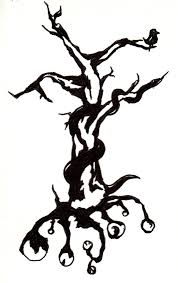 cool tribal tree tattoo design picture